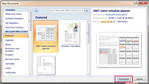 Where to Save, Download and Install Template in Word 2007, 2010 - Microsoft To Do List Template For Word