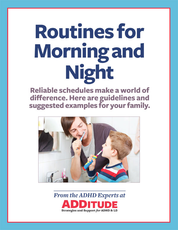 Routines for Children with ADHD Morning and Night Schedules