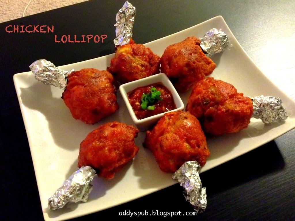 Chicken Lollipop – Addy's Pub
