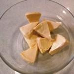 Bowl con quesitos para hacer croquetas sin carbohidratos
