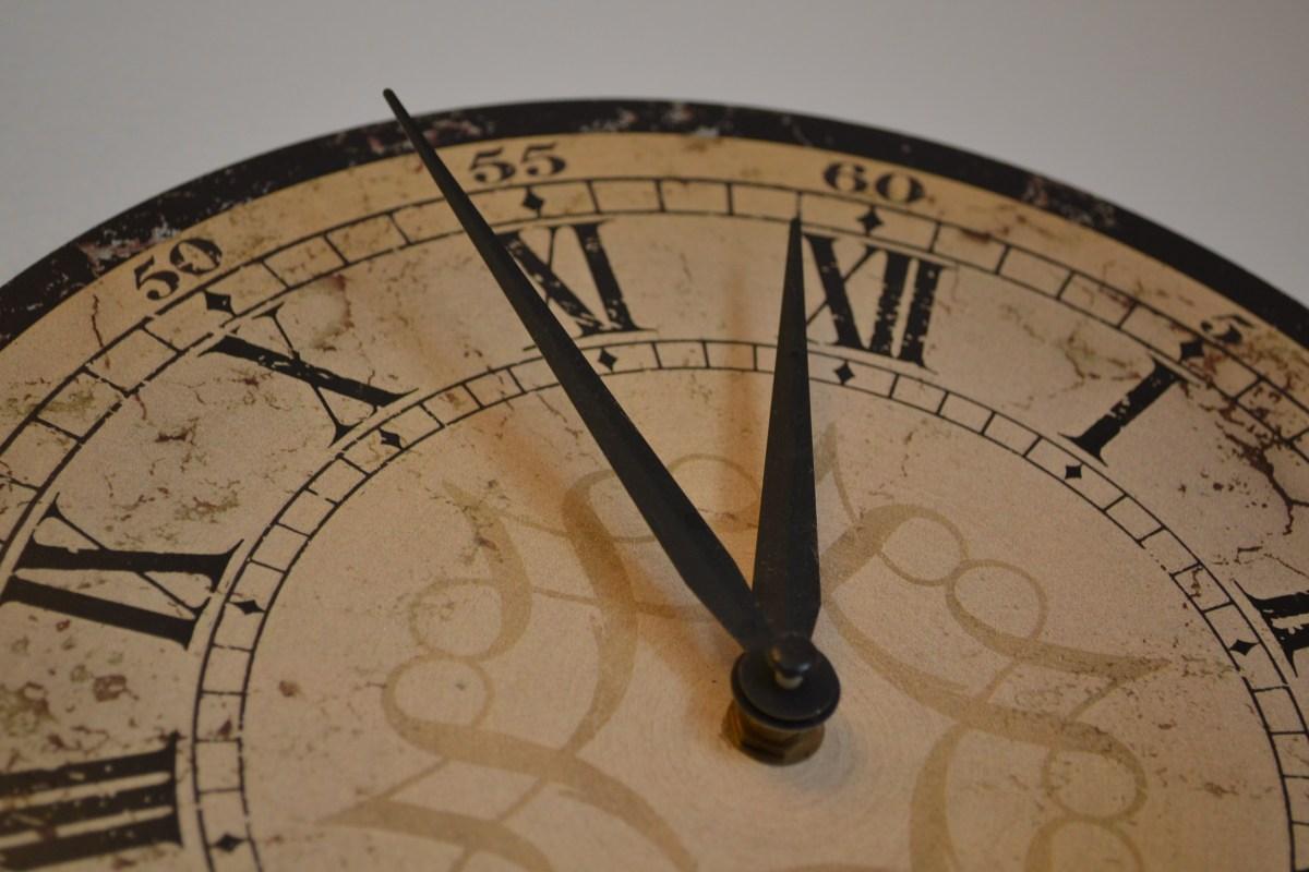 Dear Time...