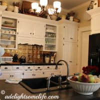 My Delightsome French Farmhouse Style Kitchen