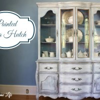 Giving the China Hutch French Flair with Paint
