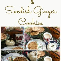 Swedish Ginger Cookies
