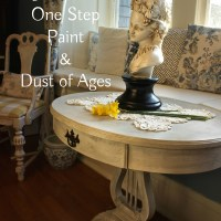 Giving Aged Patina to a Side Table