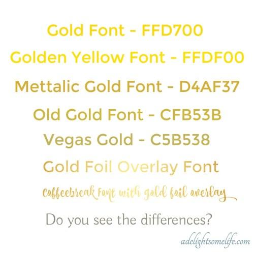 Medium Crop Of Metallic Gold Color Code