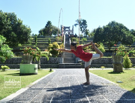 lord of dance atau natarajasana 1