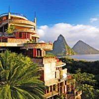 The luxury Jade Mountain Resort, St Lucia  Adelto Adelto