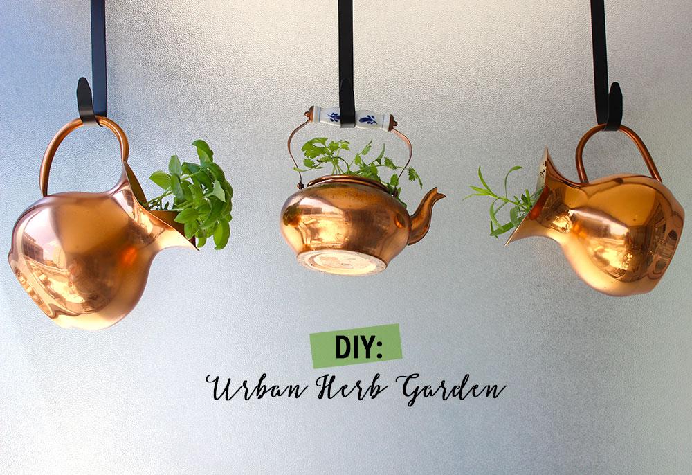 DIY: Urban Herb Garden