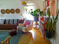 Vintage Bohemian Spring Home Tour - A Designer At Home