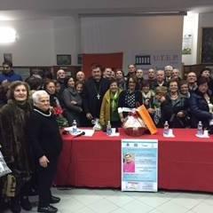 """Mons. Maniago a Laterza fra gli """"studenti"""" dell'Utep e molti cittadini"""