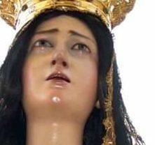 Castellaneta. L'Addolorata rientra in Cattedrale