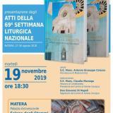 Presentazione degli Atti della 69° Settimana Liturgica Nazionale