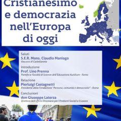 Cristianesimo e democrazia nell'Europa di oggi