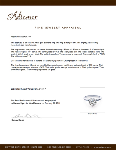 Company Profile Samples Jewelry | Handwriting Paper Reams