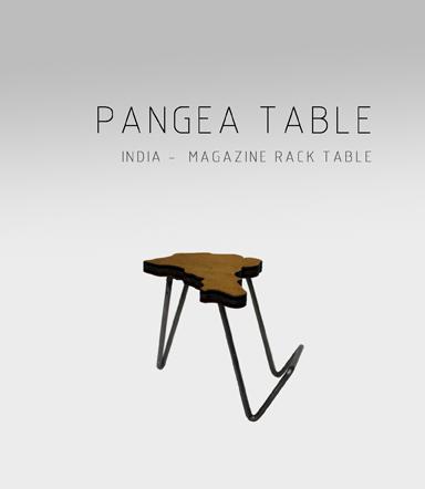 Pangea Table Adidea Design Adidea Design