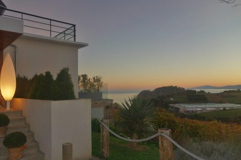 Sunset Views at Basque Country hotel