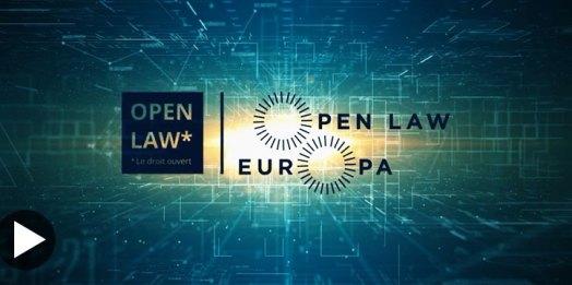 Vidéo : journée d'ouverture «Droit ouvert et innovation numérique»