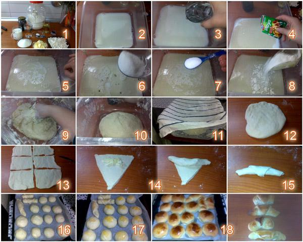 Kolay Mayalı Pastane Poğaçası Tarifi - Yapılış Adımları