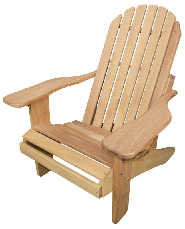 Muskoka Hardwood Chair In Iroko Adirondackcouk