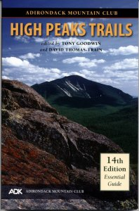 HIgh Peaks Trails guidebook published by Adirondack Mountain Club.