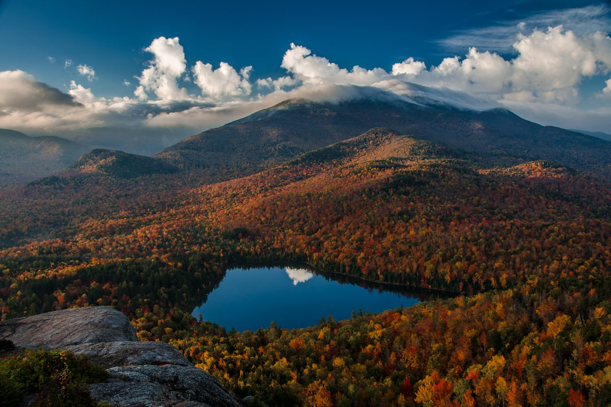 New England Fall Wallpaper Adirondack High Peaks Fall Foliage Report The
