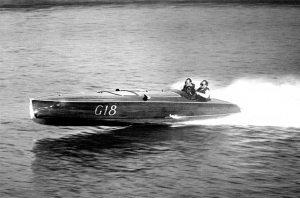 Lake george 1935 speedboat race