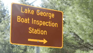 LG boat inspection station