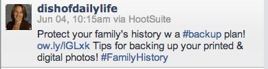 Hashtag screen shot