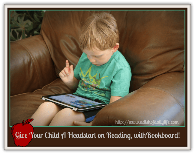 Give Your Child a Headstart on Reading, with Bookboard