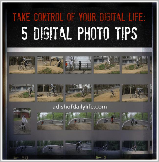 Digital Photo Organizing Tips