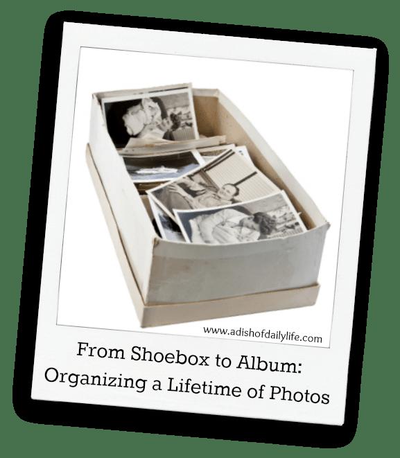 Organizing a Lifetime of Photos