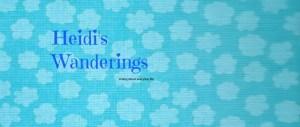 Heidis Wanderings