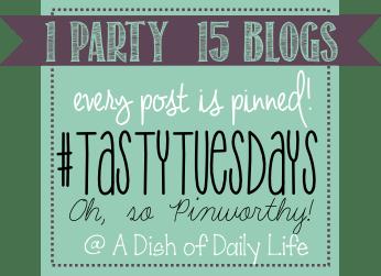 ADishofDailyLife #tastytuesdays