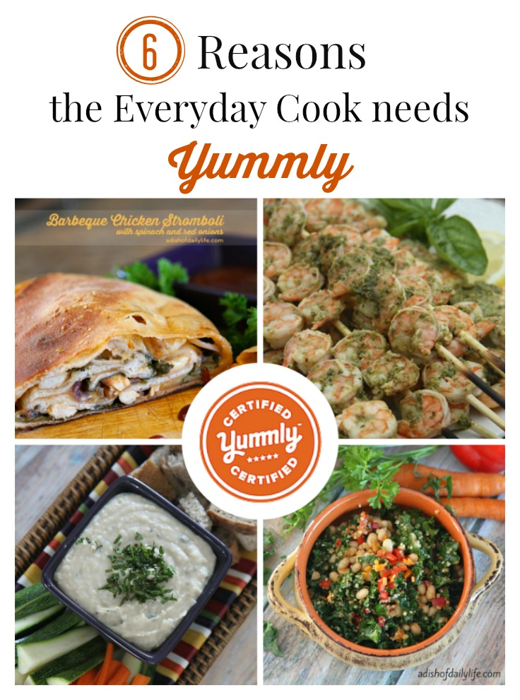If you're short on time, stuck in a cooking rut, or simply looking to save money at the grocery store, you need to check out Yummly. This is your online recipe collection on steroids...a great tool for meal planning!