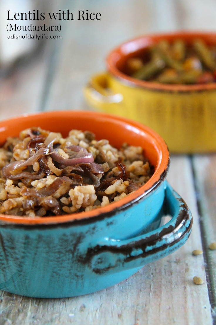 Middle Eastern Recipes: Lentils with Rice