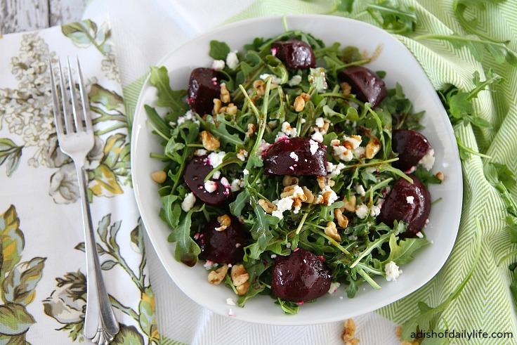Balsamic Beet Salad