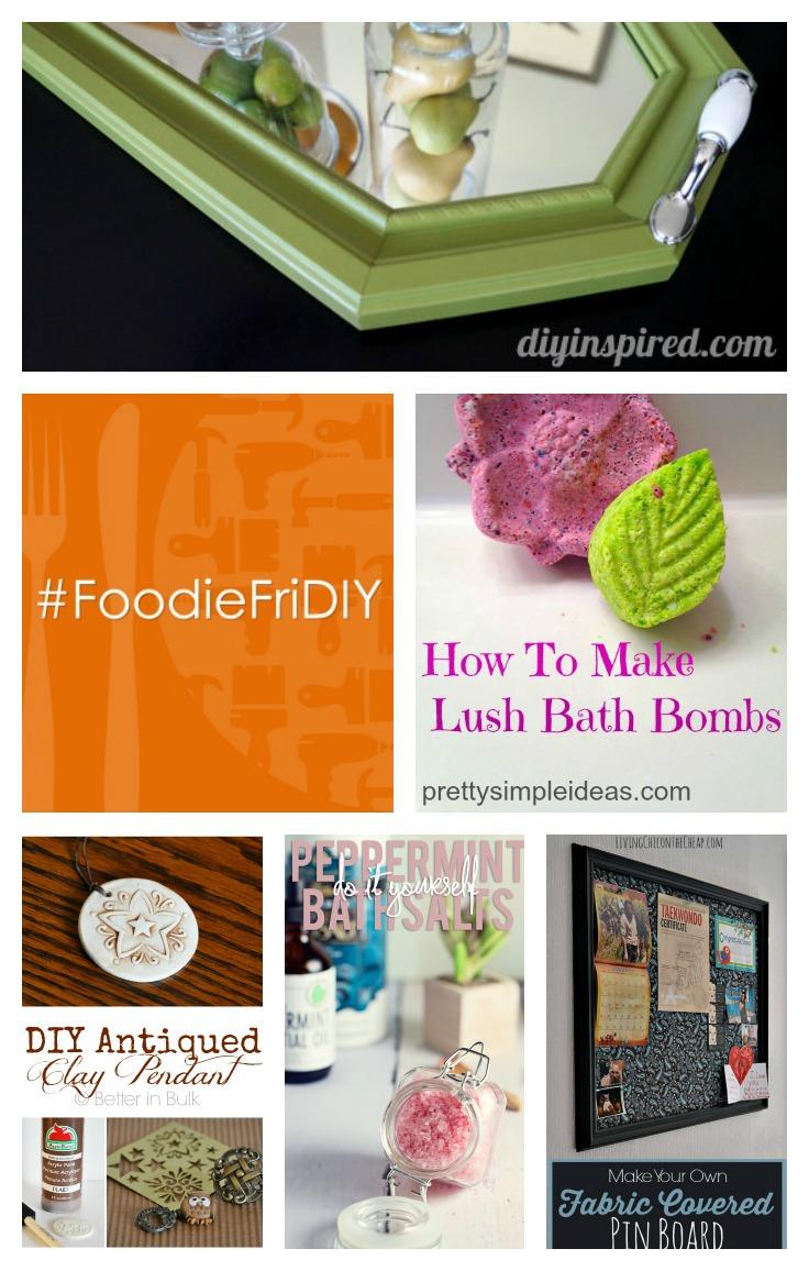 DIY Projects at #FoodieFriDIY