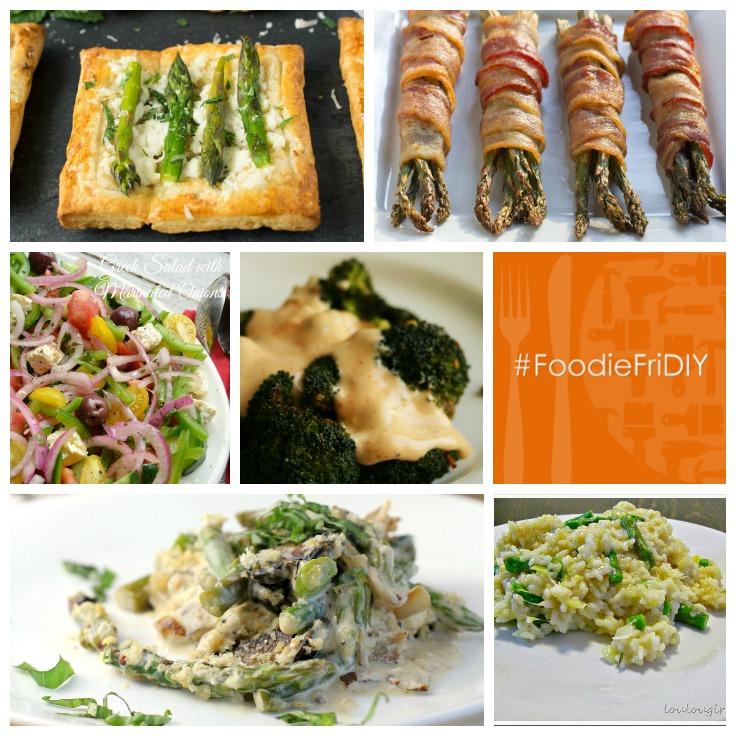 Featured Veggies #FoodieFriDIY