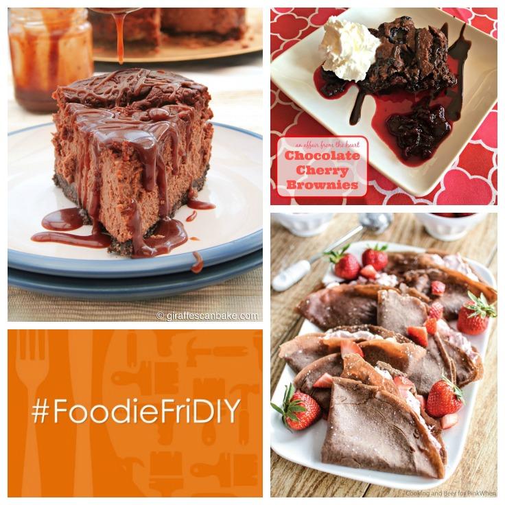 Chocolately Goodness at #FoodieFriDIY