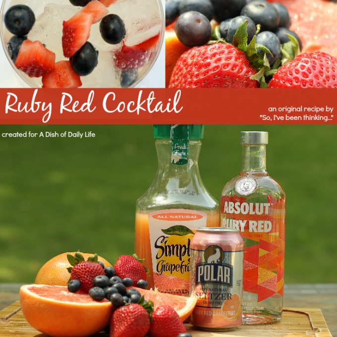 Ruby Red Cocktail