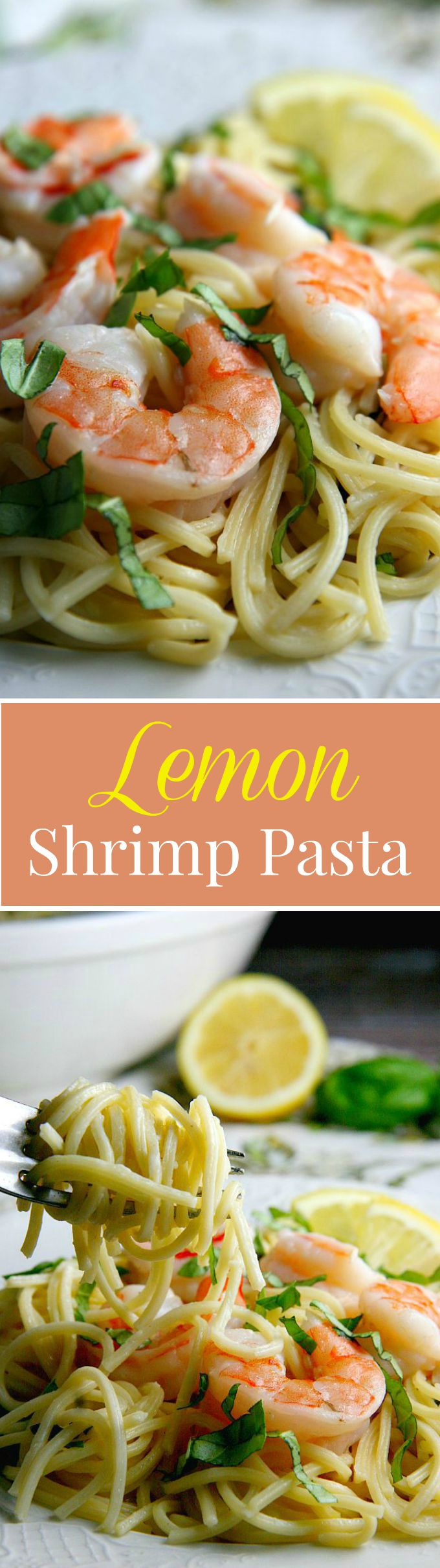 Lemon Shrimp Pasta...15 mins, one pot meal...perfect dinner recipe for busy families on the go!