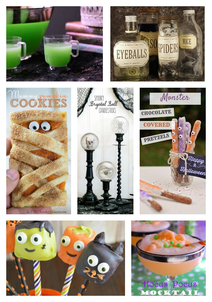 Best Halloween Ideas...food and craft ideas for a spooky night