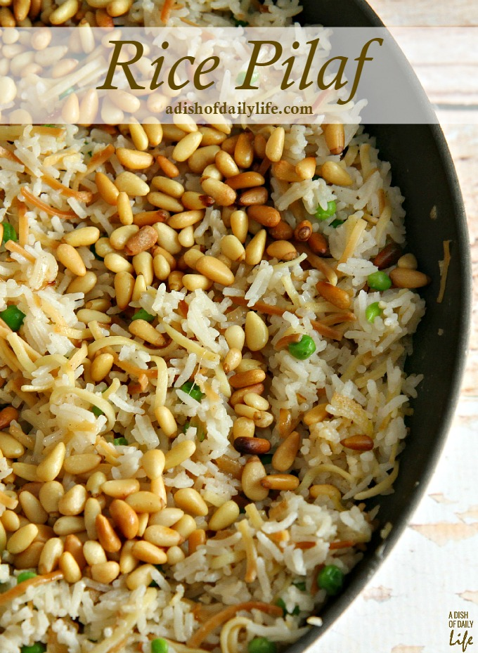 Easy Rice Pilaf Recipe