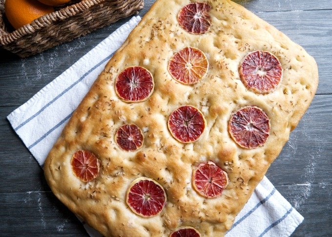 Airy and soft on the inside. Oily and crunchy on the outside. A classic Italian focaccia bread with early spring flavors.