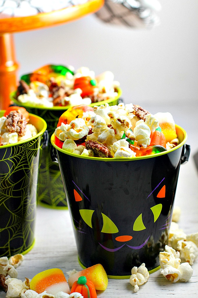Monster Munch Popcorn Snack Mix #SundaySupperA Dish of Daily Life
