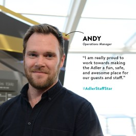 Andy | Adler Staff Star
