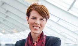 Kate Brueggemann is the Adler Planetarium's VP of Development responsible for fundraising and philanthropy at the museum.