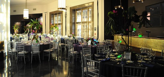 Host your next special event in the Adler Planetarium's Rainbow Lobby!
