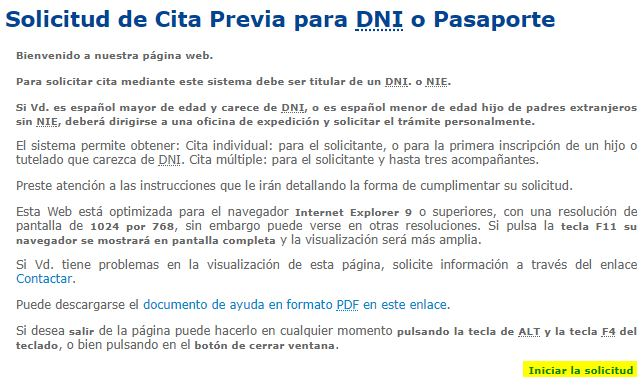 Cita Previa DNI y Pasaporte por Internet y Teléfono - Adminfácil